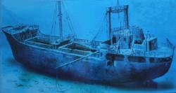 Wreck Peltastis Liveaboard diving Croatia